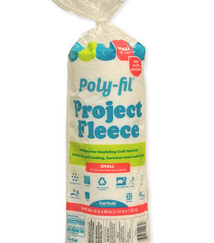 "Poly-Fil Project Fleece Batting 45"" x 60"""