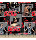 The Walking Dead Ready For War Cotton Fabric