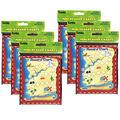 Treasure Hunt Mini Reward Charts, 36 Per Pack, 6 Packs