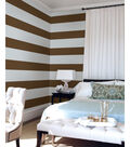 Wall Pops Hot Chocolate Stripe Decals, 32 Feet