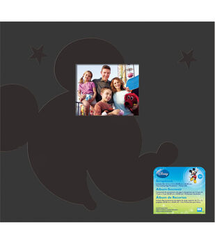 "Disney Mickey Postbound Album 12""X12""-Family"