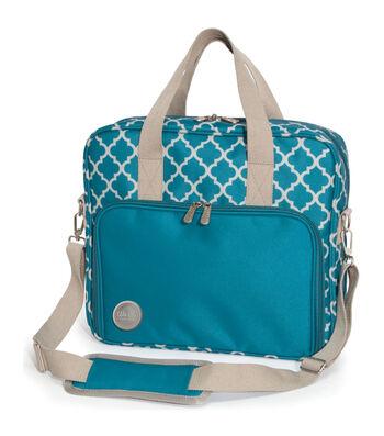 Crafter's Shoulder Bag-Aqua