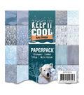 Find It Trading Amy Design Paper Pack 6\u0022X6\u0022 23/Pkg-Keep It Cool