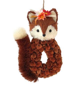 Blooming Autumn Wood Curl Fox