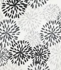 Soft & Comfy Fleece Fabric 58\u0022-Black & White Cloud Burst