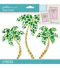 Jolee\u0027s Boutique 3 Pack 6.5\u0027\u0027x5\u0027\u0027 Palm Trees Bling Stickers