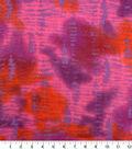 Anti-Pill Fleece Fabric -Pink & Orange