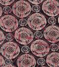 Modern Cotton Fabric 43\u0027\u0027-Tree Stump Circles