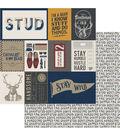 Photoplay Paper Man Card 12\u0027\u0027x12\u0027\u0027 Double-Sided Cardstock-Handsome Card