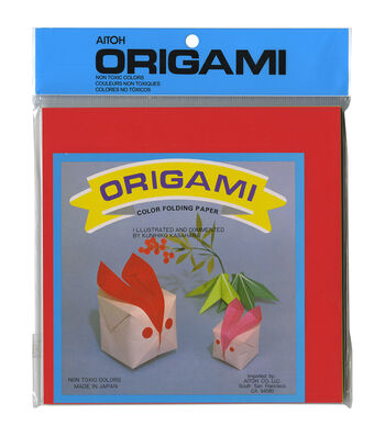 "Origami Paper 7""X7"" 100/Pkg-Assorted Colors"