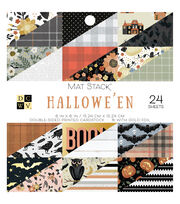 "DCWV 6""x6"" Paper Stack-Halloween, , hi-res"