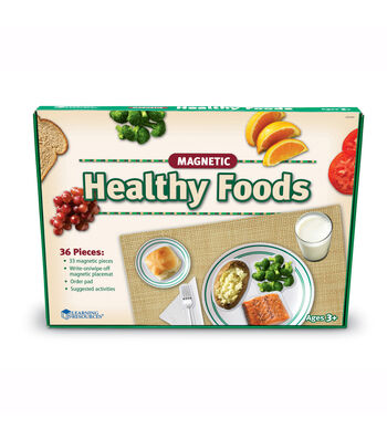 Pretend & Play Magnetic Healthy Foods Set
