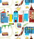 Home Decor 8\u0022x8\u0022 Fabric Swatch-Eaton Square Blackboard /  Primary