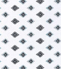Nursery Cotton Fabric 43\u0022-Aztec Gray