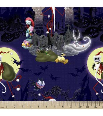 Holiday Inspirations Christmas Fabric-Nightmare Before Christmas Santa Jack