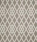 Home Decor 8\u0022x8\u0022 Fabric Swatch-Eaton Square Sherry Pewter Lattice