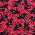 Anti-Pill Plush Fleece Fabric-Larson Tossed Moose On Red