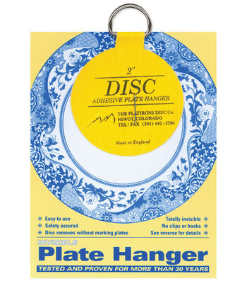 """Disc Plate Hanger 2""""-For Plates Up To 6"""""""