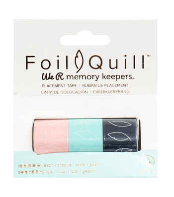 We R Memory Keepers Foil Quill 3 pk 18' Placement Tapes