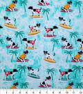 Novelty Cotton Fabric 43\u0022-Surfing Dogs