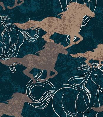 Blizzard Fleece Fabric 59''-Blue Free Range
