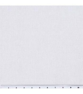 "Keepsake Calico Cotton Fabric 44""-White Dots"