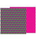 Pebbles Jen Hadfield Patio Party 12\u0027\u0027x12\u0027\u0027 Double-Sided Cardstock-Tulips