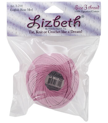 Lizbeth Crochet Cotton Thread