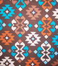 Home Essentials Lightweight Decor Fabric 45\u0022-Arizona Ikat Brown