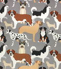 Richloom Studio Multi-Purpose Fabric-Dog Park Neutral