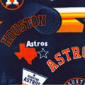 Houston Astros Fleece Fabric-Vintage