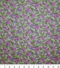 Premium Cotton Fabric -Pink Ditsy Rose