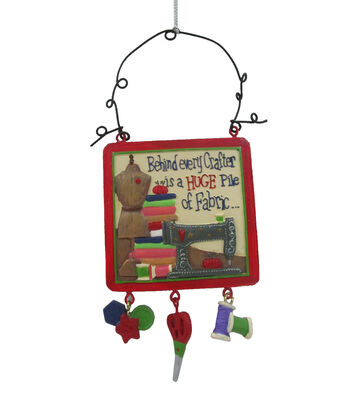 Maker's Holiday Christmas Ornament-Behind Every Crafter