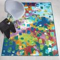 Ruggable Washable 5x7\u0027 Area Rug-Watercolor Abstract Multi