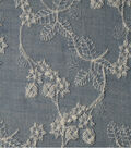 Sportswear Denim Fabric -Light Wash Floral