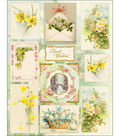 Penny Black Sticker Sheet 7\u0022X9\u0022-Oh Spring!