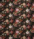 Home Decor 8\u0022x8\u0022 Fabric Swatch-Disco Pac Man Black Swan