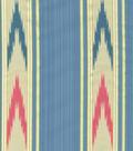 Williamsburg Upholstery Fabric 56\u0022-Manipur Ikat/Jewel