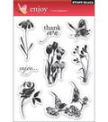 Penny Black Clear Stamps 5\u0022X7.5\u0022 Sheet-Enjoy