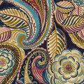 Waverly Upholstery Décor Fabric 9\u0022x9\u0022 Swatch-Mayan Market Bayside