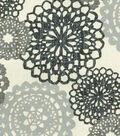 Waverly Upholstery Fabric 54\u0027\u0027-Noir Rare Jewels