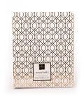 DCWV Moment Maker Notebook-Gold Foil Geometric Shapes
