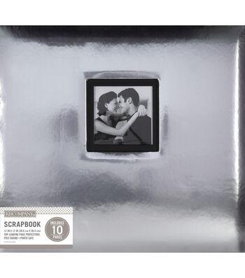 "K&Company Silver Foil 12""x12"" Window Scrapbook"