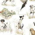 No Sew Fleece Throw-Realistic Dogs In Wild