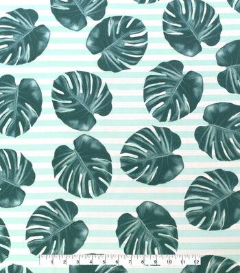 "Outdoor Decor Fabric 55""-Leaf Print"