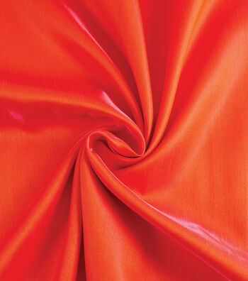 Yaya Han Cosplay Dual Fantasy Dupioni Fabric 54''-Orange