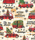 Christmas Cotton Fabric-Holiday Travels