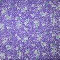 Premium Cotton Fabric-Purple Maeve Splatter Flowers