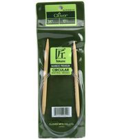 "Clover Bamboo Circular Knitting Needles 36""-Size 10.5, , hi-res"