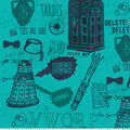 BBC Doctor Who Flannel Fabric-Bow Ties are Cool